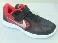 NIKE REVOLUTION 3 BOYS STRAP UP SHOES TRAINERS UK SIZE 10 - 2  kids   819414 600