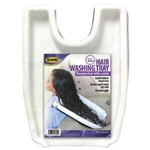 Hair Washing Sink Safety Contoured Portable Salon Home Tub Tray