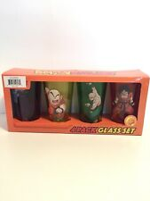 4- Pack Dragon Ball Z Multi-Colored Pint Glass Set - Goku Krillin Tien Piccolo