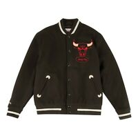 Mitchell & Ness Uomo NBA Chicago Bulls in The Supporti Varsity Giacca Nuova