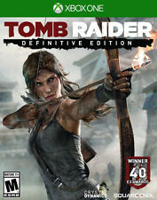 Tomb Raider -- Definitive Edition xbox one New disc