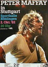 PETER MAFFAY seltenes Konzertplakat von 1982  in DORTMUND