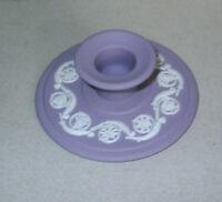 Wedgwood Jasperware Lilac Candle Holder