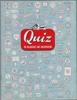 """[30770] 1951 ASSOC. OF AMERICAN RAILROADS """"QUIZ ON RAILROADS & RAILROADING"""" BOOK"""