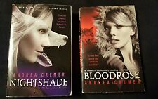 Andrea Cremer, lot of 2 TPB, Nightshade & Bloodrose