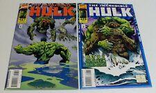 Incredible Hulk #427 & #428 VF - lot of 2 Marvel Comics 1995 - Man-Thing
