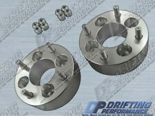 """2pcs Universal 2"""" (50mm) Wheel Adapters Spacers 4x114.3 to 4x114.3 Stud 12x1.25"""