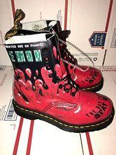 """Dr. Martens Unisex """"DEMON TEDS"""" Leather Boot DZ500 SI 11 Q Sz(Men M 4-Women L 5)"""