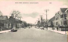 Randolph,MA.,Main Street,Norfolk County,c.1930s