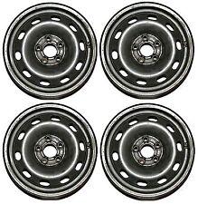 "Set of 4 VW Golf MK4 1.4 1.6 5 stud 6J x 14"" Steel Wheels ready for winter tyres"