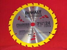 Lot of 10 - DW3578 7-1/4-Inch 24T Framing Carbide Thin Kerf Circular Saw Blade