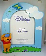 Disney 4 x 6 Photo Picture Frame Winnie The Pooh Kite Frame Blue Sky Boys Room
