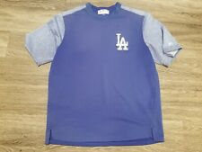 Los Angeles Dodgers MLB On Field Therma Base Fleece Pullover XL Game Used #58