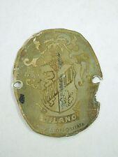 Vintage Cinelli Milano Bicycle Head Badge Emblem Marca Depositata