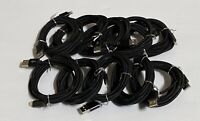 10 PACK 6FT Braided Cable Heavy Duty for Apple iPhone Charger 5 7 6s Plus X XS