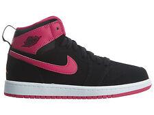 Jordan 1 Retro High Little Kids 705321-008 Black Pink Shoes Girls Youth Size 1