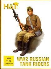 HaT Miniatures 1/72 WORLD WAR II RUSSIAN TANK RIDERS Figure Set