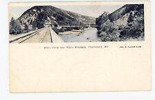 Will's Creek & Mountain—Cumberland MD Antique Railroad Train UDB Fulton <1908