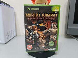Mortal Kombat Shaolin Monks Microsoft Original Xbox Boxed No Manual PAL
