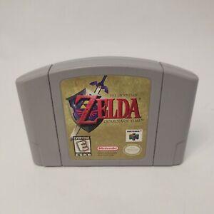 The Legend of Zelda Ocarina of Time (Nintendo 64 N64)
