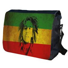 Bob Marley School Bag College Messenger Bag
