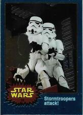 1999 Topps Star Wars Chrome Archives #18 Stormtroopers Attack!