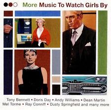 (LOUNGE JAZZ) MORE MUSIC TO WATCH GIRLS BY / VARIOUS ARTISTS - 2 CD SET