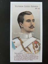 No.113 SGT T. LAWRENCE Victoria Cross Heroes 101-125 REPRO Taddy 1904