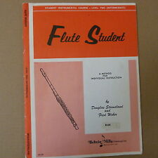 flute FLUTE STUDENT Level 2, Douglas Steensland, Fred Weber