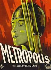 METROPOLIS- Canvas print Vintage movie poster  - A2 Fritz Lang