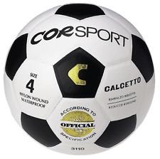 Pallone calcetto CORSPORT rimbalzo ridotto palla calcio cuoio misura 4 official
