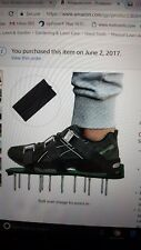 New listing Heavy Duty Lawn Aerating Shoes, Yard Care, Healthy Grass, Adjustable