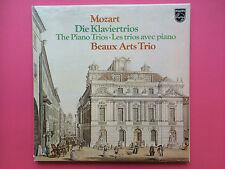 Mozart - Die Klaviertrios - Beaux Arts Trio - Philips 6768-032 Ex+ 2LP Boxset