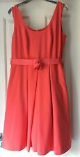Pepperberry Dress Peach/orange colour size 10CV