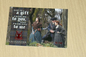 2020 Cryptozoic Outlander Season 4 RED parallel Father Daughter F2 1/50