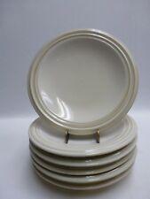 """Pfaltzgraff Cappuccino Tan 8"""" Salad Plates Set of 6"""