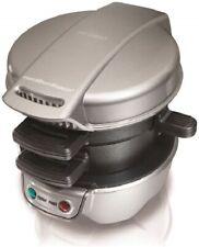 New ListingHamilton Beach Breakfast Sandwich Maker Kitchen - Silver - 25475
