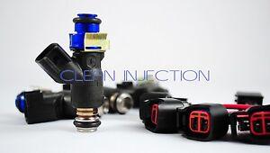 Acura RSX K20 K24 R18 RDX 450cc Fuel Injectors adapters Honda Civic K series SI