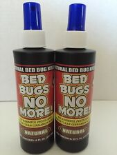 2 Bed Bugs No More Natural Bed Bug Killer No Harmful Pesticides 8oz Pump Spray