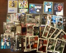 NFL Football Hot Pack Card Lot! AUTO, Game Used, Rookies and more! Extreme BV$$$