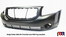 FOR DODGE CALIBER 06-12 FRONT BUMPER BAR COVER W/FOG LAMP HOLE