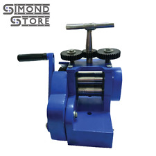 3''(80mm) Rolling Mill Machine 2 Roller Assembled Jewelry Press Tableting Tool