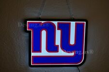 """New York Giants Light Bar Lamp Poster Nfl Led Neon Sign 17"""" Fast Ship"""