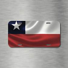 Chrome License Plate Frame I Heart Chile Auto Accessory 1184