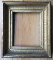 Antique Carved Wood Gold Picture Frame - Fine Detailing - Deep Cove - Gilded