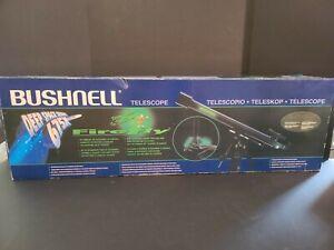 "NEW Bushnell 675 X 60 DEPP SPACE FIREFLY"" Reflector Telescope Model 78-9519"