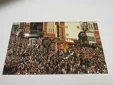 H556 postcard Mardi Gras Day in New Orleans NO LA Lousiana City of Enchantment