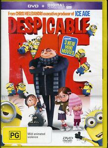 Despicable Me DVD NEW Region 2 4 5 Digital U;traviolet UV