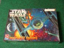 Imperial Tie Fighters Star Wars AMT / ERTL Model Kit 1997 Unopened