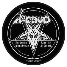 OFFICIAL LICENSED - VENOM - IN LEAGUE WITH SATAN SEW ON PATCH THRASH BLACK METAL